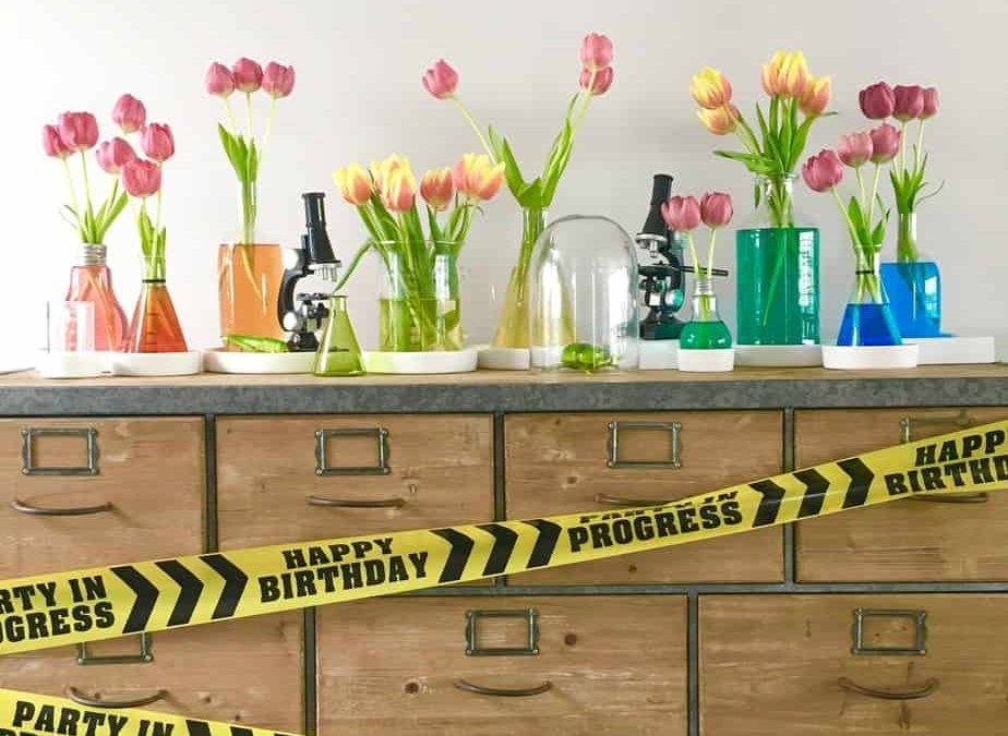 Science Party: Flowers