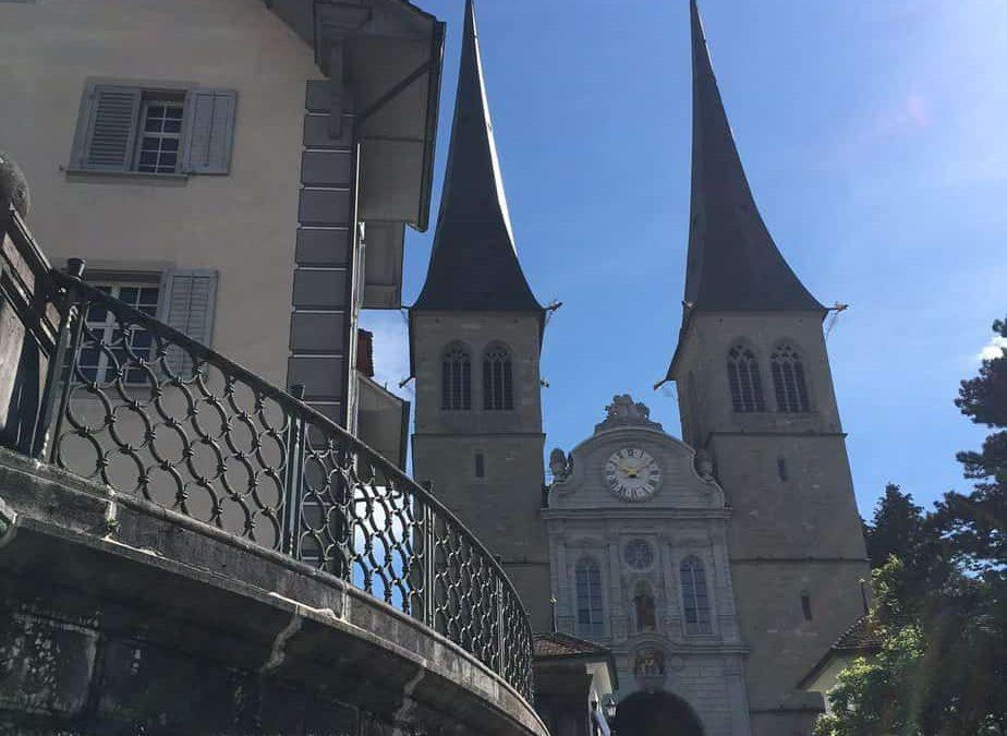 Luzern: Church of St. Leodegar