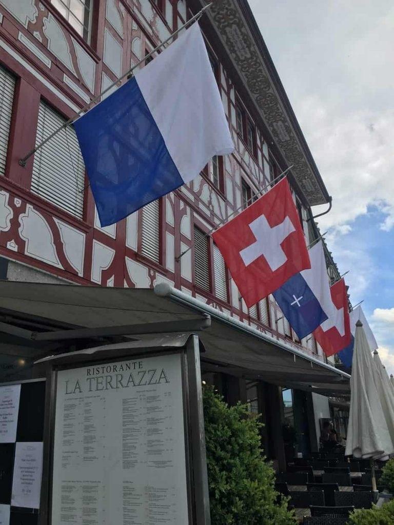 Luzern Ristorante La Terrazza Swiss Family Gallagher