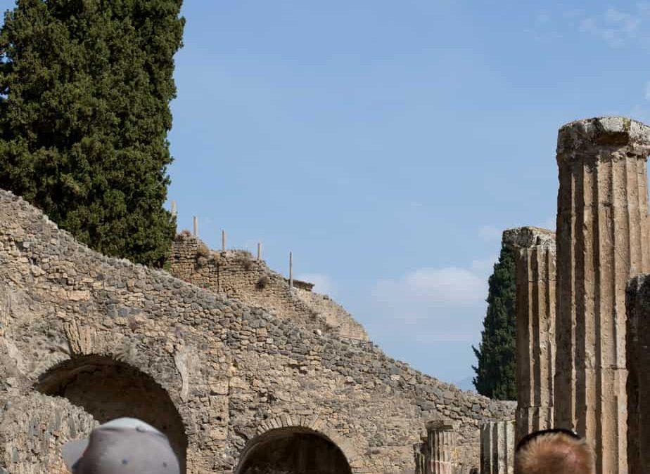 Laidlaws on La Med: Pompeii and Mt. Vesuvius
