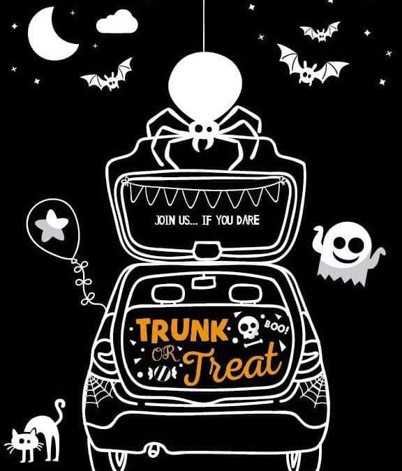 Halloween Trunk or Treat Invite