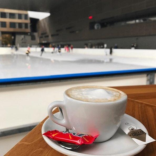 Zug: Bossard Outdoor Ice Skating Rink