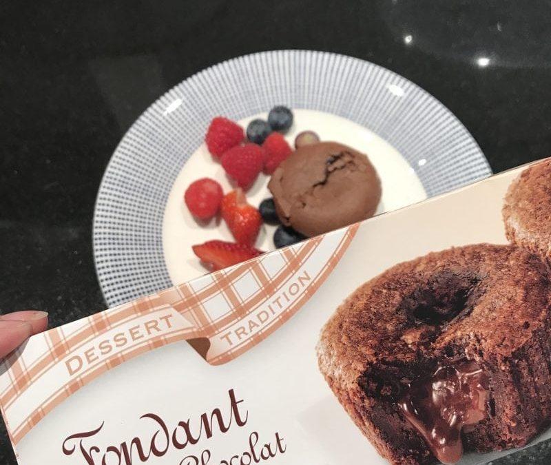 Swiss Food: Fondant Chocolat