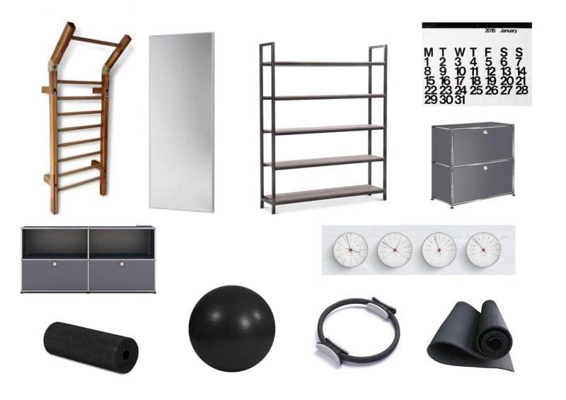 Hunenberg House – The Gym Design