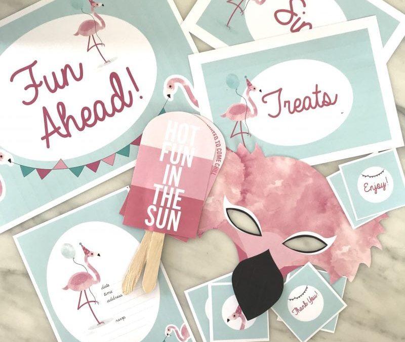 DIY – Flamingo Fun