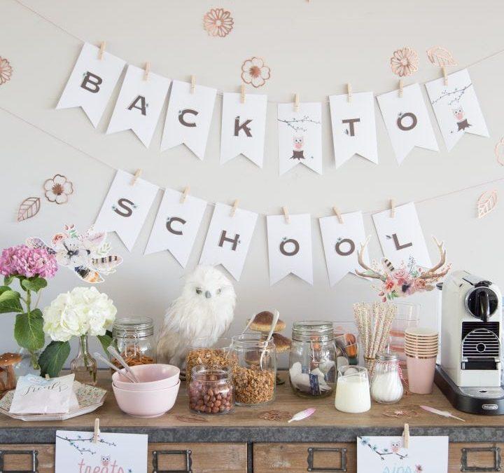 Fun: Back to School Breakfast
