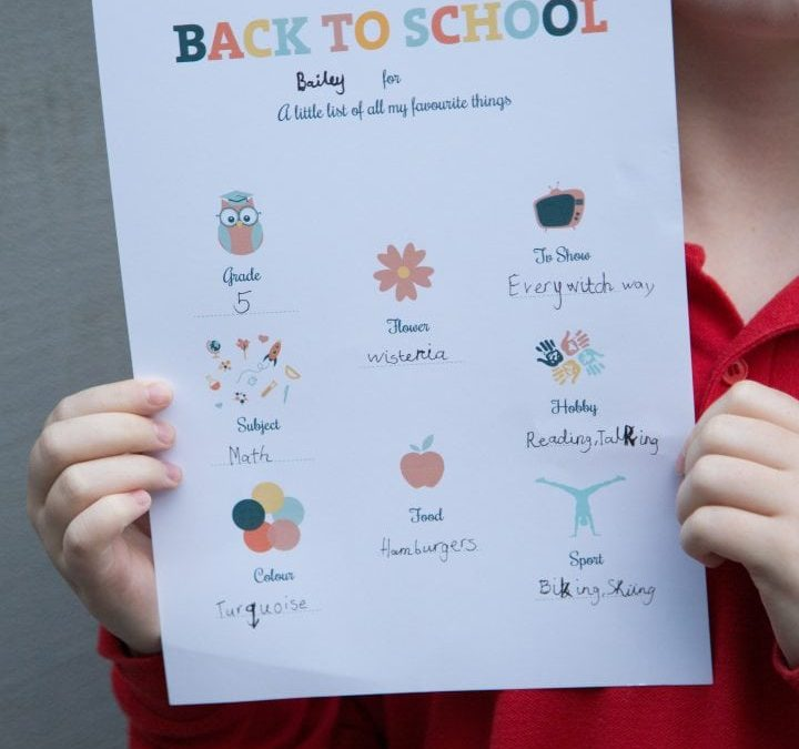 News: Back to School