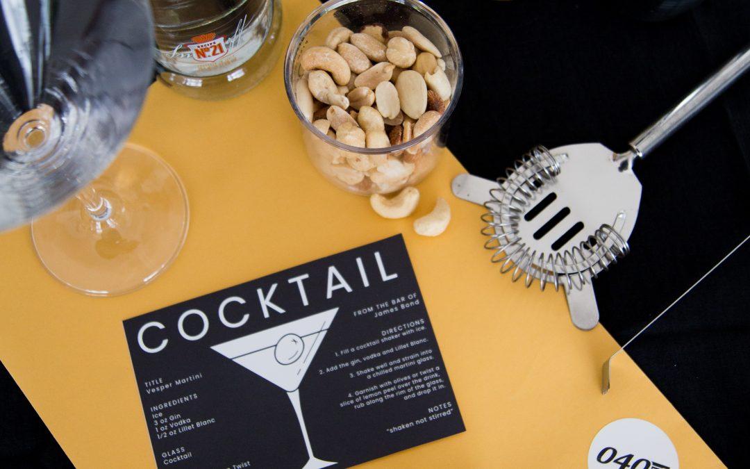DIY – Vesper Martini Hamper