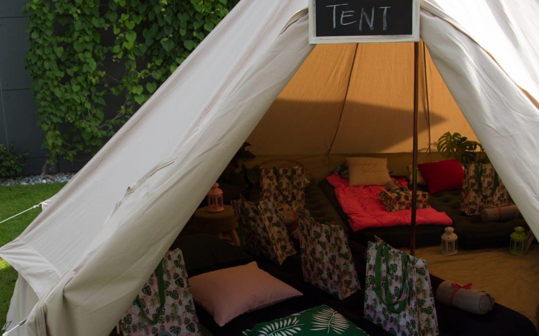 Fun – Our Glamping Tent