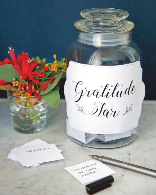 DIY – A Gratitude Jar