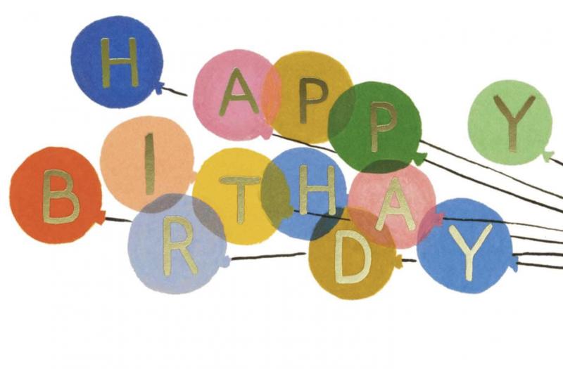 New – Happy Birthday!