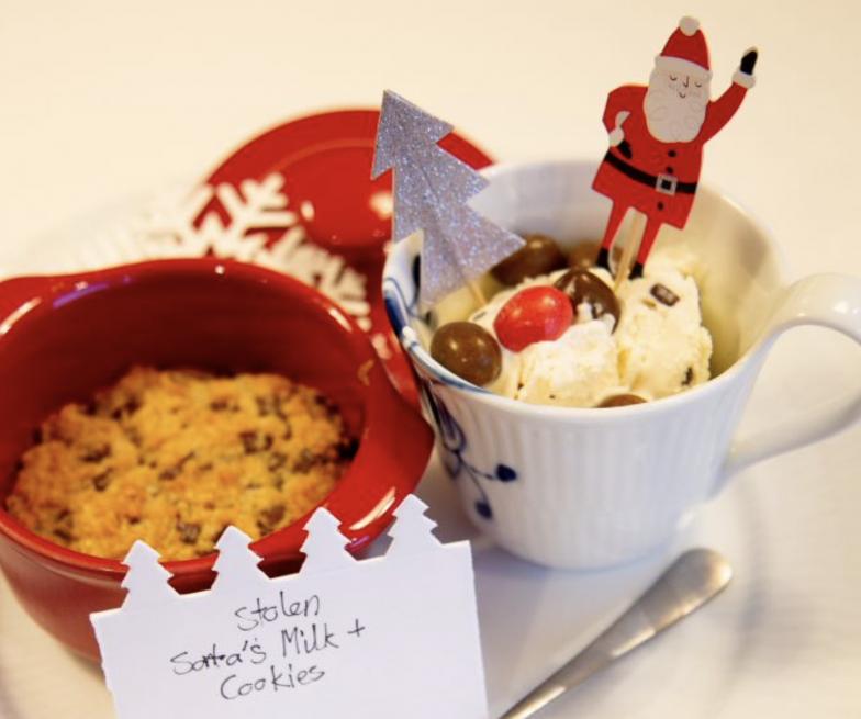 Food – Stolen Santa's Milk & Cookies