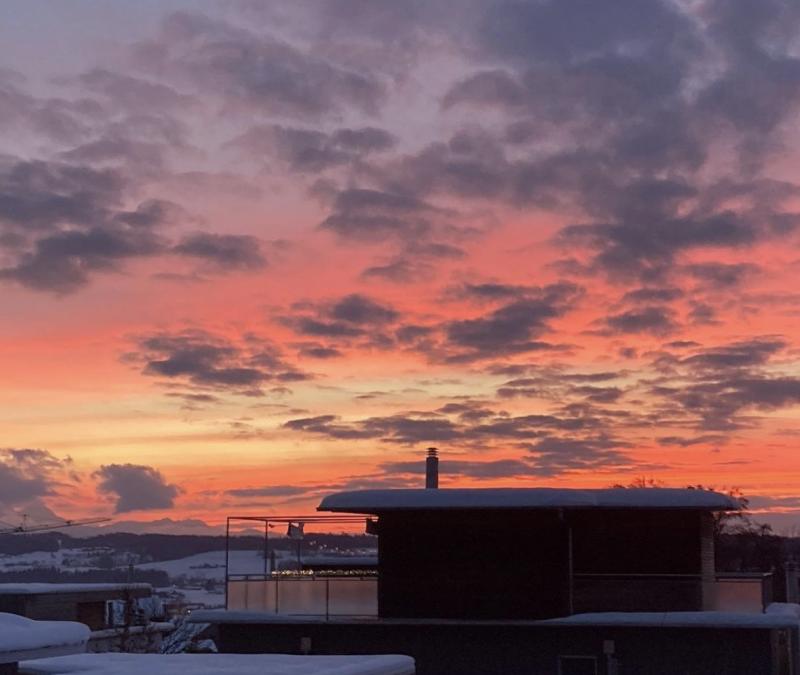 Photo of the Week – Pink Skies, Zug